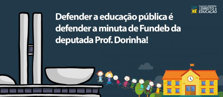 [Carta Aberta] Defender a educação pública é defender à minuta de Fundeb da Professora Dorinha
