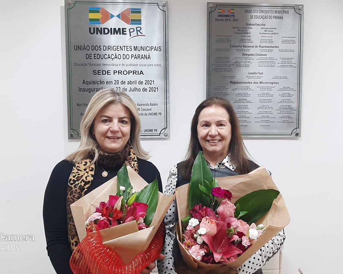 Marcia Baldini é eleita presidente da Undime Paraná