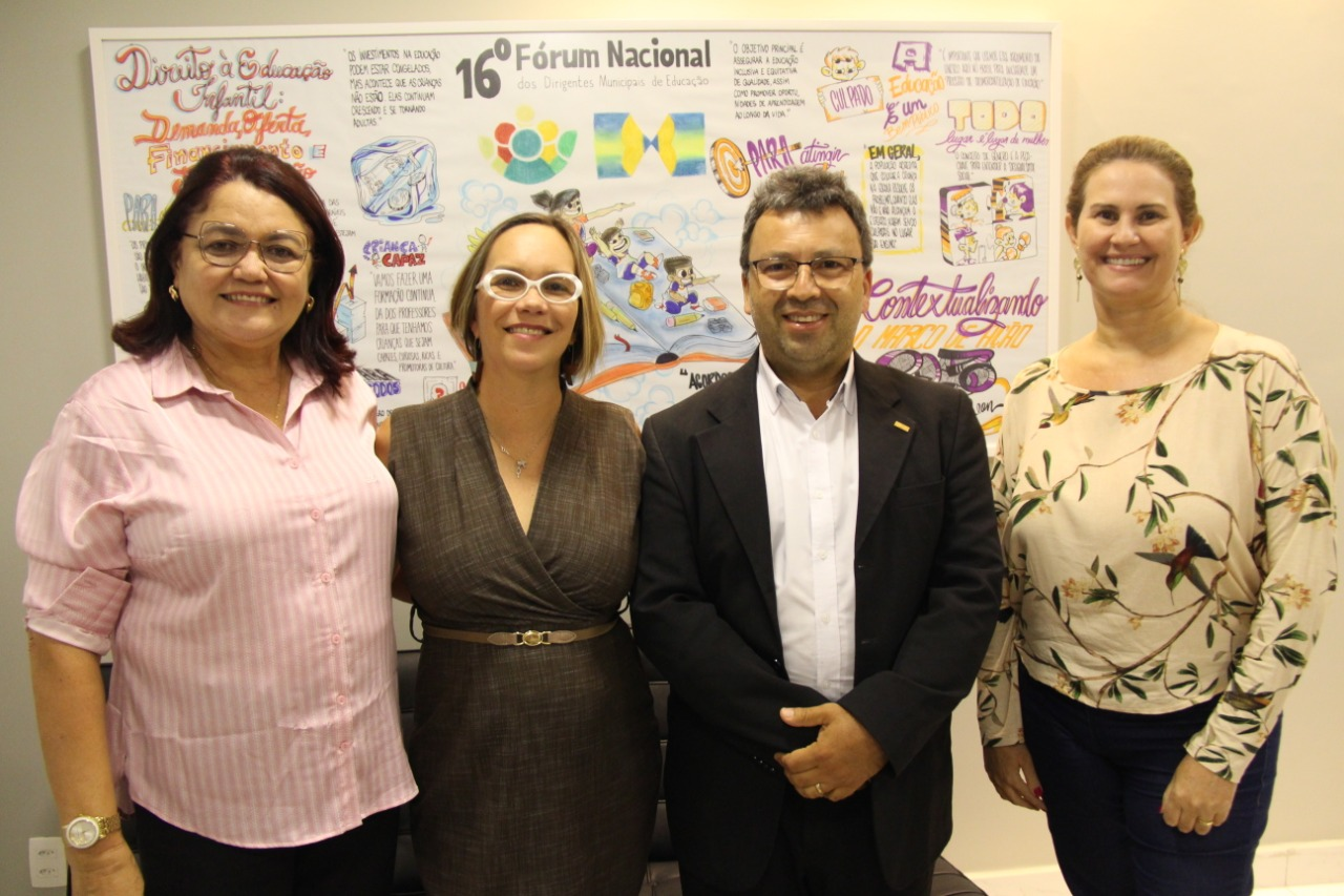 Undime e OEI se reúnem para tratar de ações sobre educação infantil