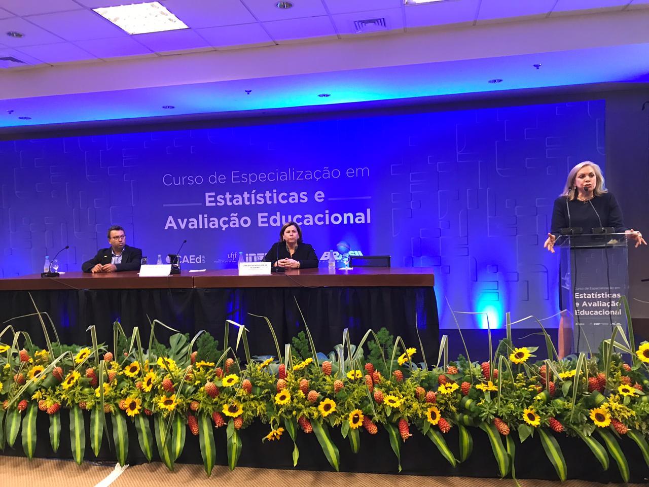 Undime participa da cerimônia de abertura do Curso de Especialização em Estatísticas e Avaliação Educacional do Inep