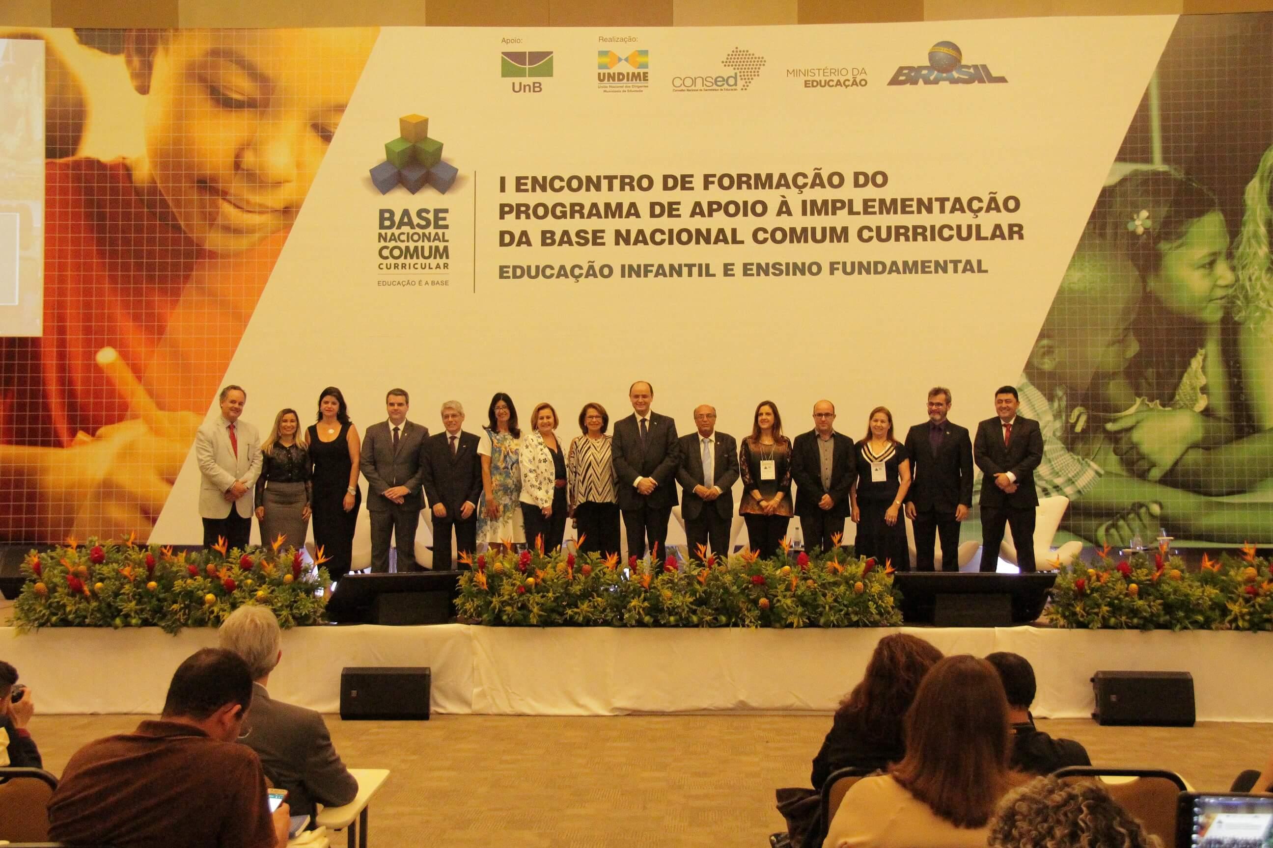 Delegações de todos os estados participam do 1º encontro de formação do programa de apoio à implementação da BNCC