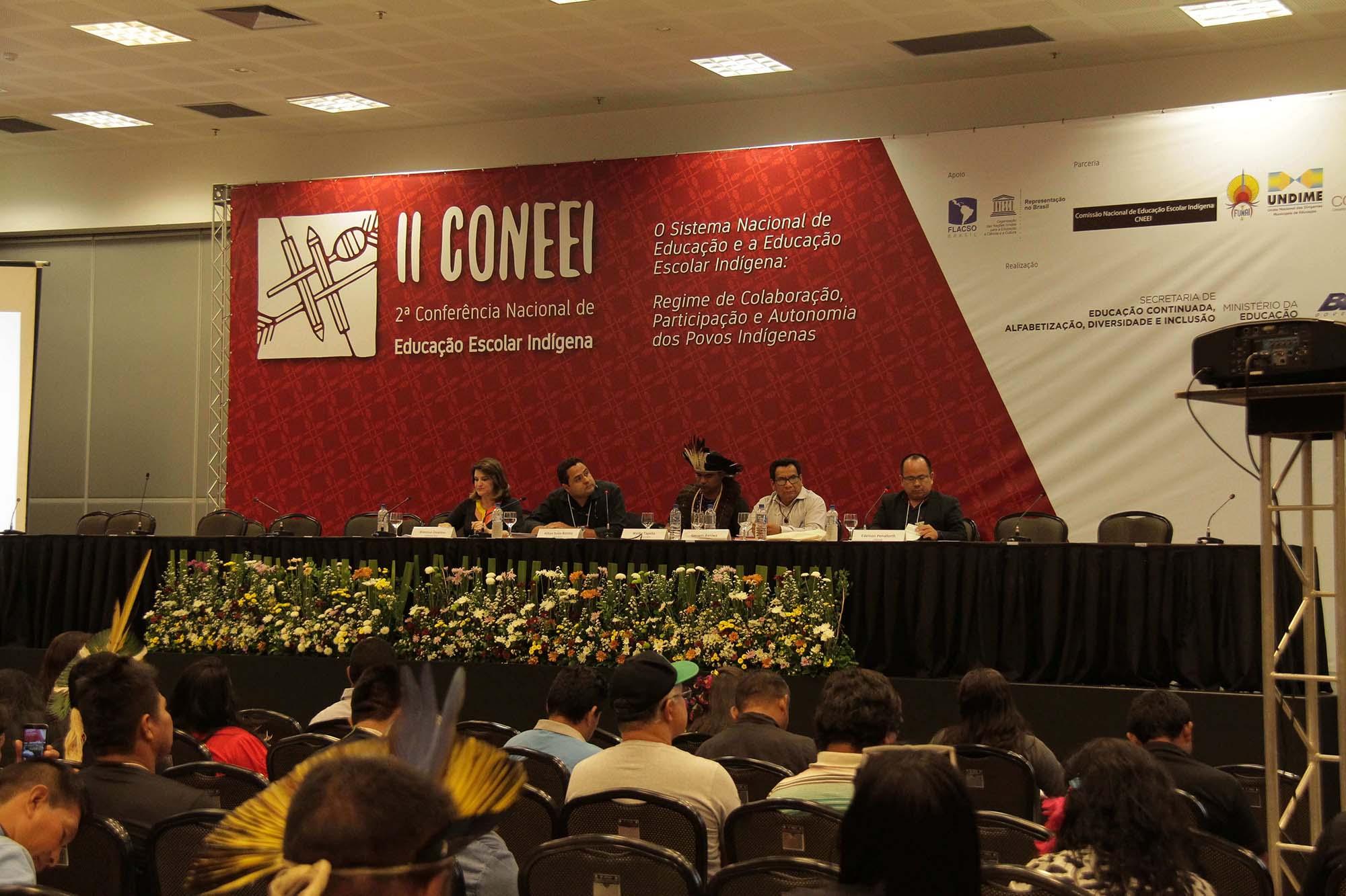 Undime participa da 2ª Conferência Nacional de Educação Escolar Indígena