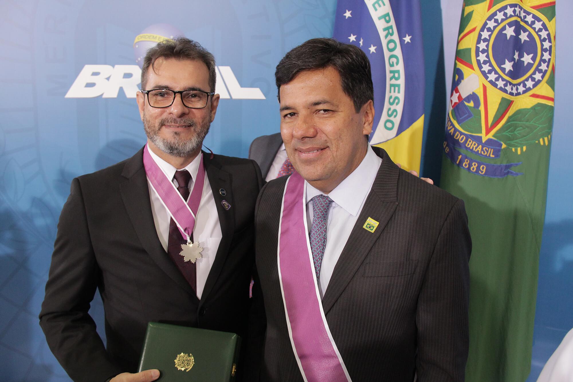 Presidente da Undime recebe Comenda Ordem Nacional do Mérito Educativo
