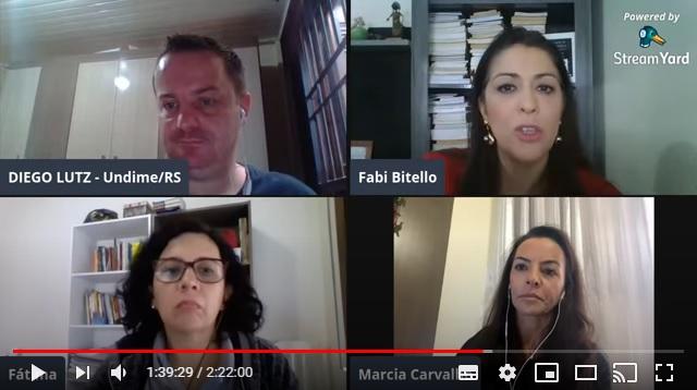 Seccionais da Undime realizam webconferências para manter o diálogo com dirigentes em tempos de pandemia