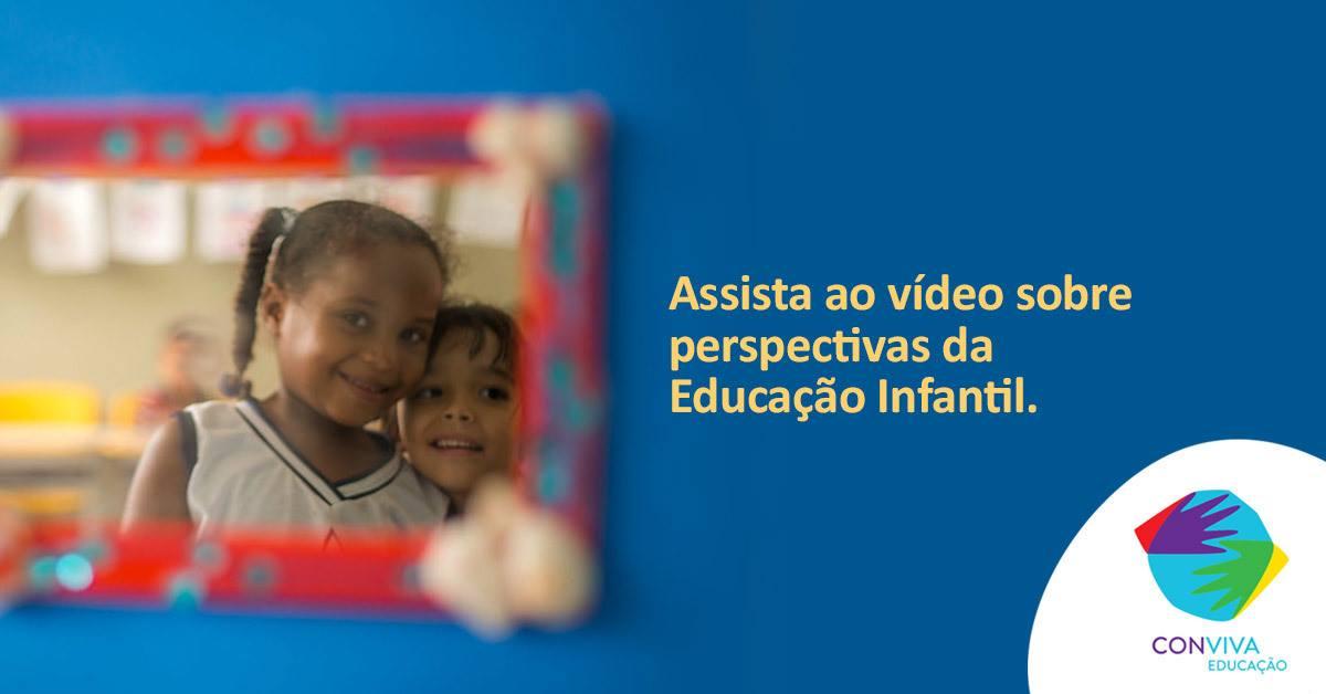 Perspectivas da Educação Infantil é tema da próxima videoconferência do Conviva