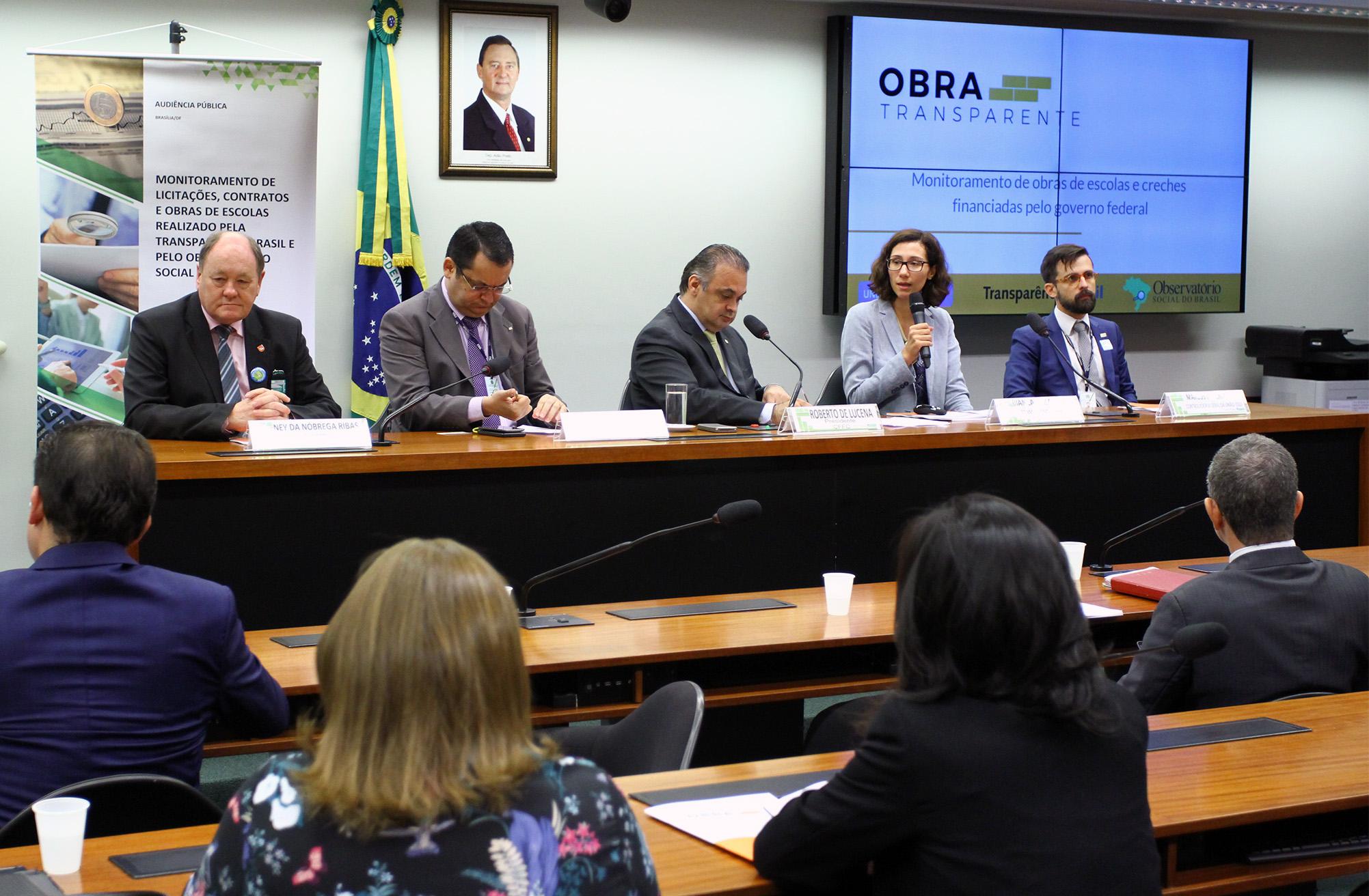 Crise fiscal afeta construção de creches, alerta Transparência Brasil