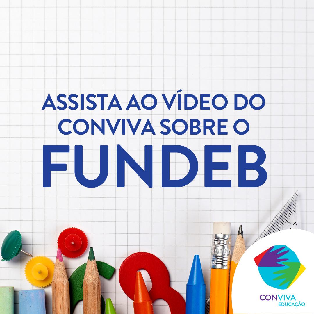 Conviva lança novo vídeo sobre o Fundeb