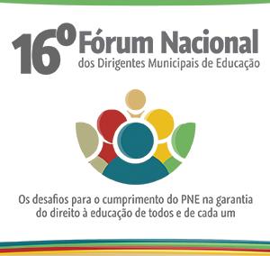 Página para emissão dos certificados de participação no 16º Fórum Nacional está disponível