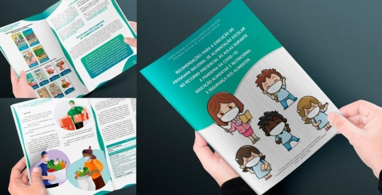 FNDE lança publicação com recomendações para a execução da alimentação escolar no retorno presencial às aulas