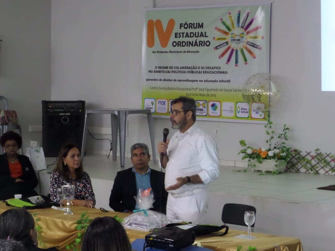 Fórum da Undime Amapá reúne representantes de todos os municípios do estado e pauta regime de colaboração