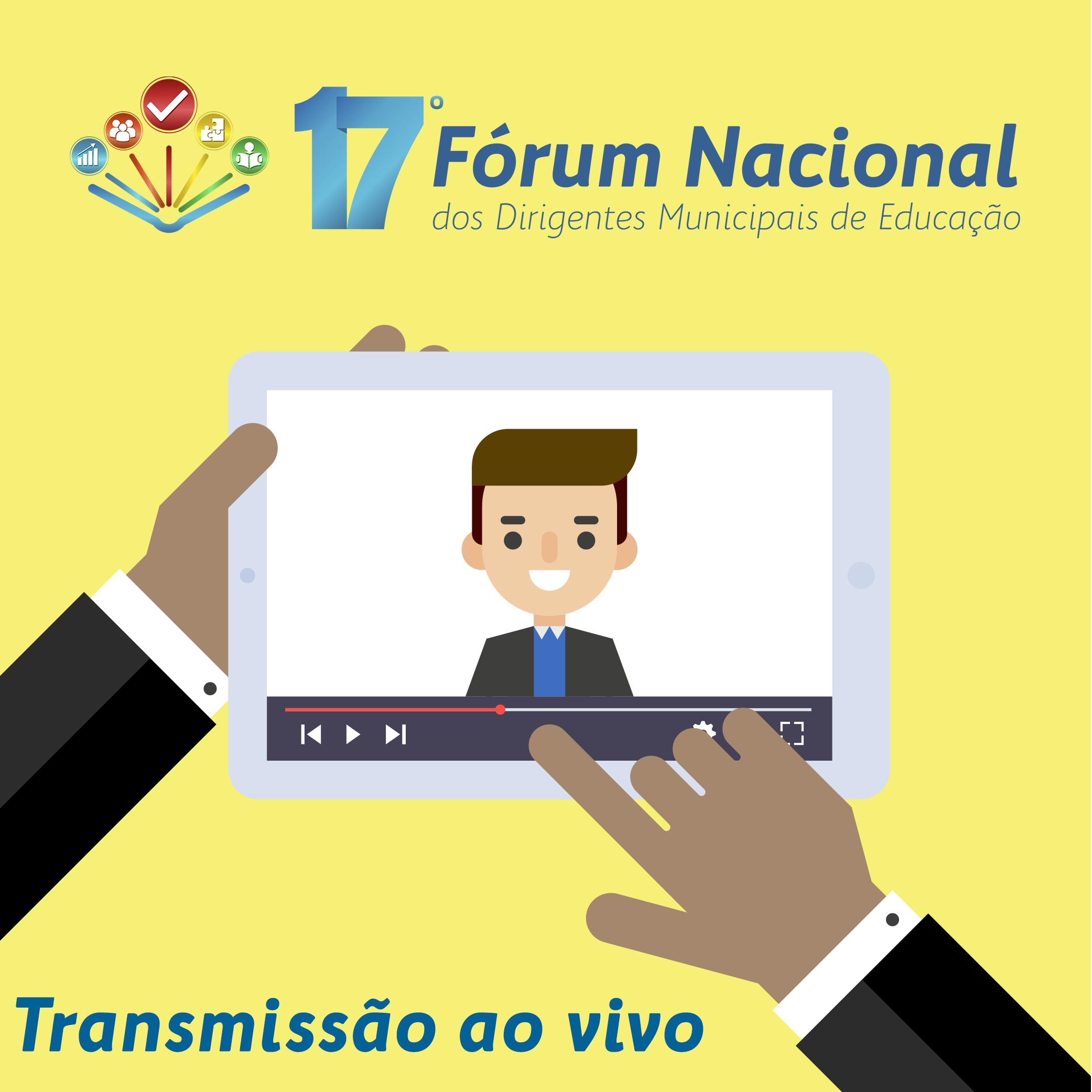 17º Fórum Nacional da Undime será transmitido ao vivo pela Internet