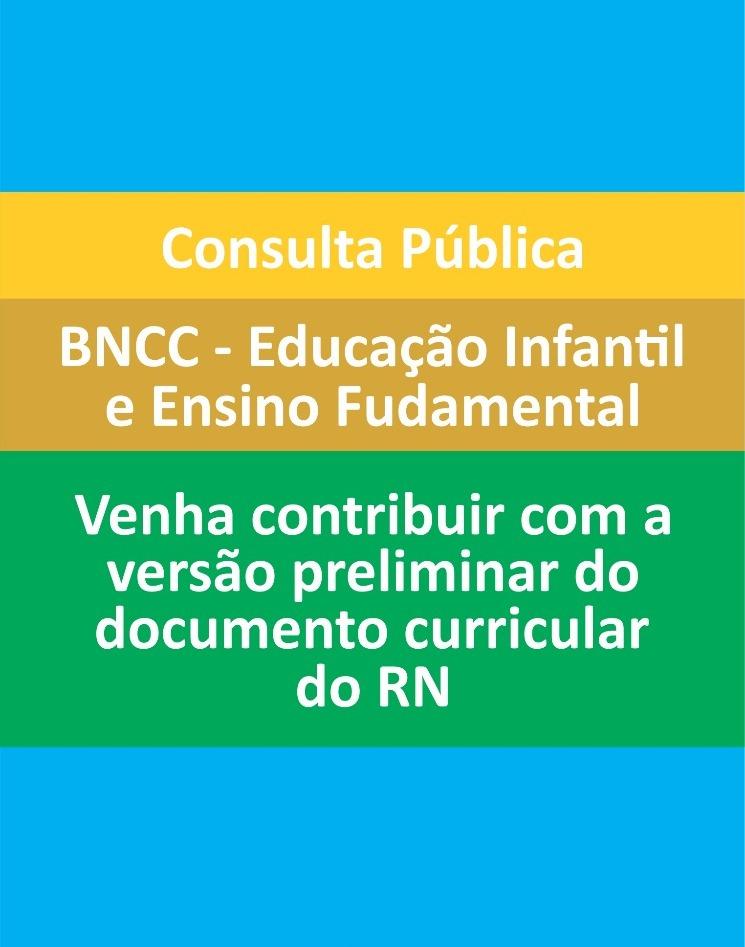Encerra nesta sexta-feira a Consulta pública ao Documento Curricular do RN para Educação Infantil e Ensino Fundamental