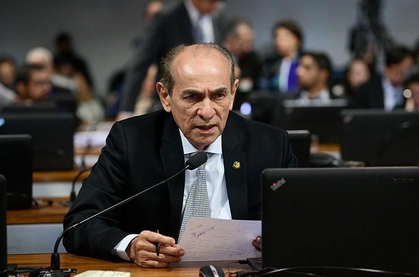 No Senado, CCJ analisa PEC que constitucionaliza os royalties do petróleo para saúde e educação