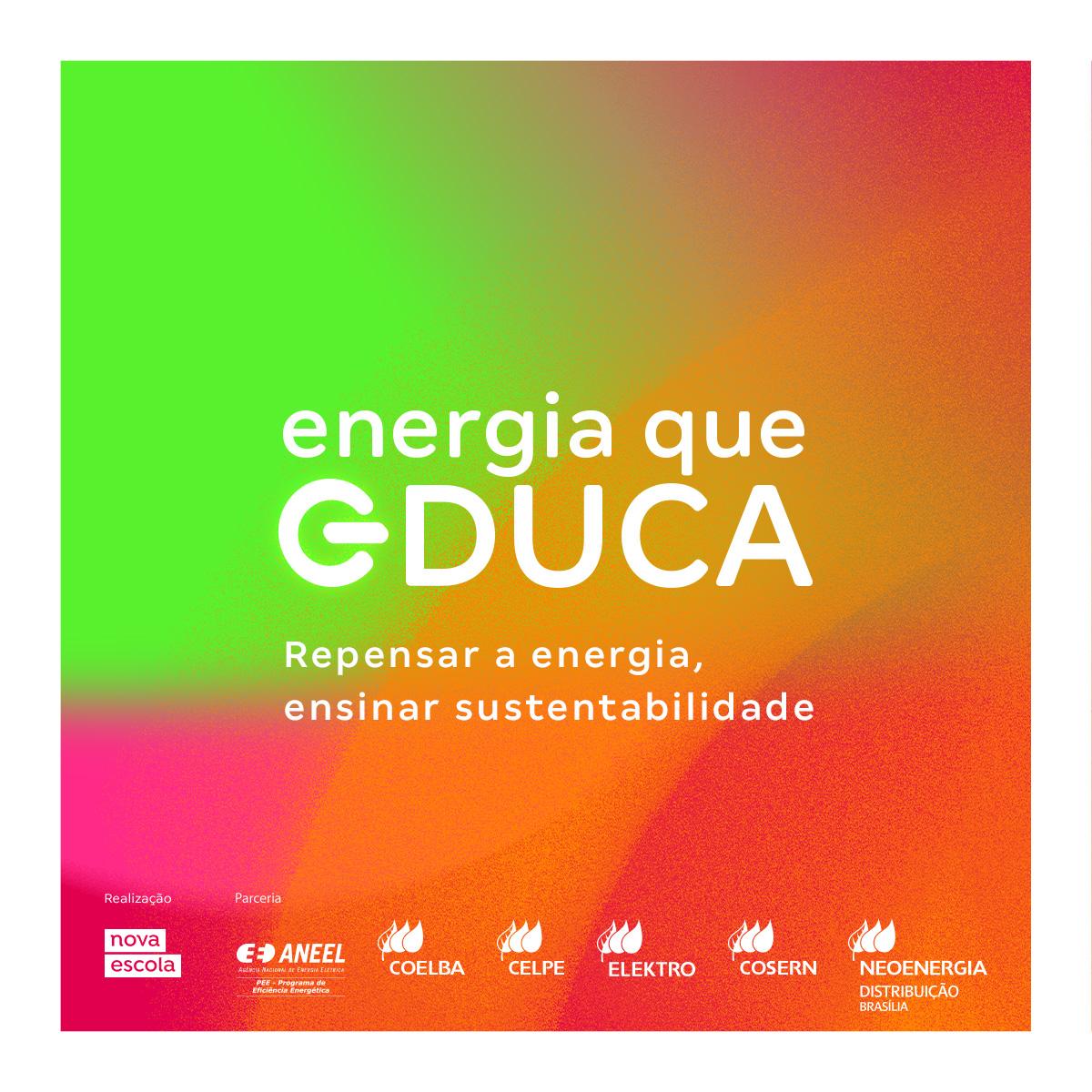 Curso gratuito forma professores sobre economia de energia e educação ambiental