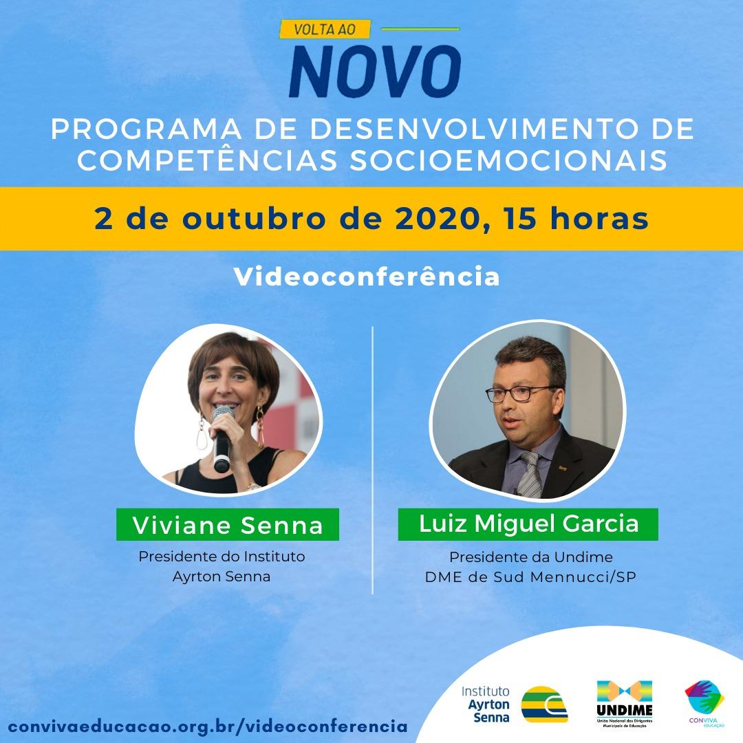 Instituto Ayrton Senna e Undime se unem para apoiar municípios na retomada das aulas presenciais