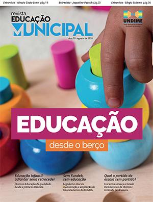 Nova edição da Revista Educação Municipal é lançada no 7º FNEx