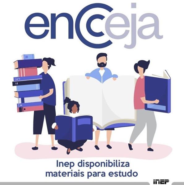 Apostilas com materiais de estudos para o Encceja estão disponíveis no portal do Inep