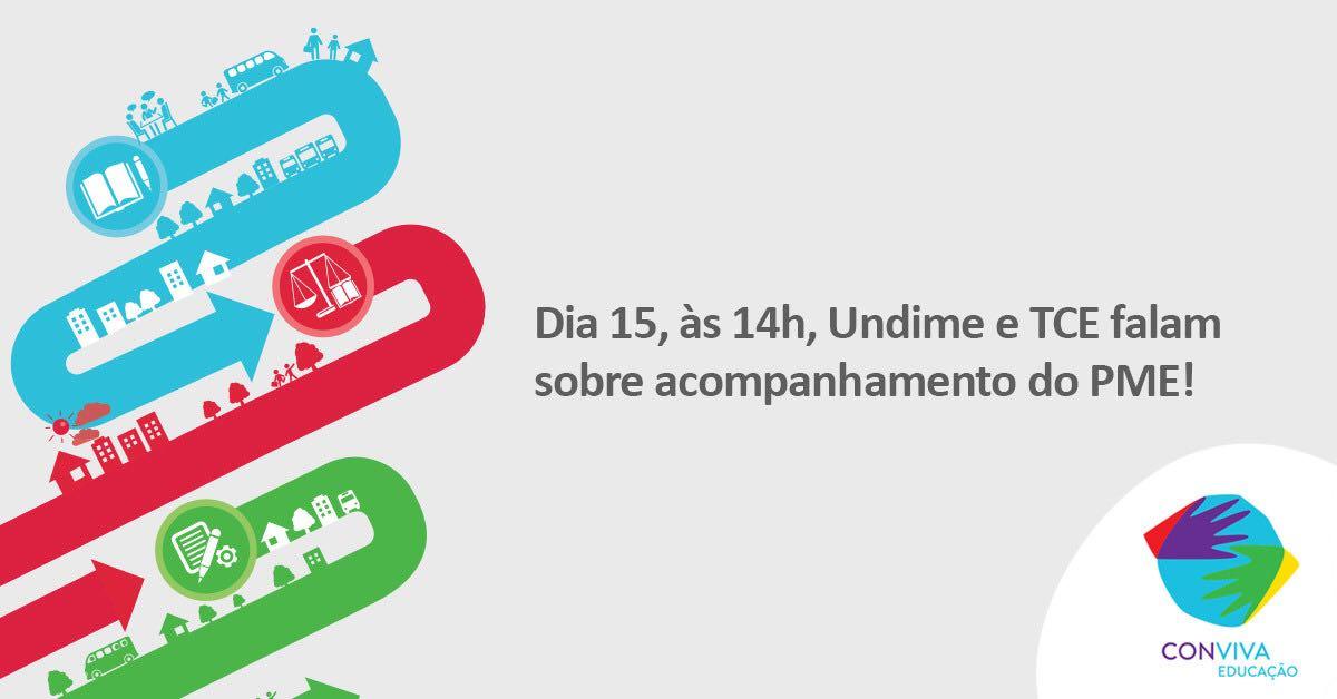 Conviva promove, na sexta-feira (15), videoconferência sobre o cumprimento das metas dos Planos Municipais de Educação