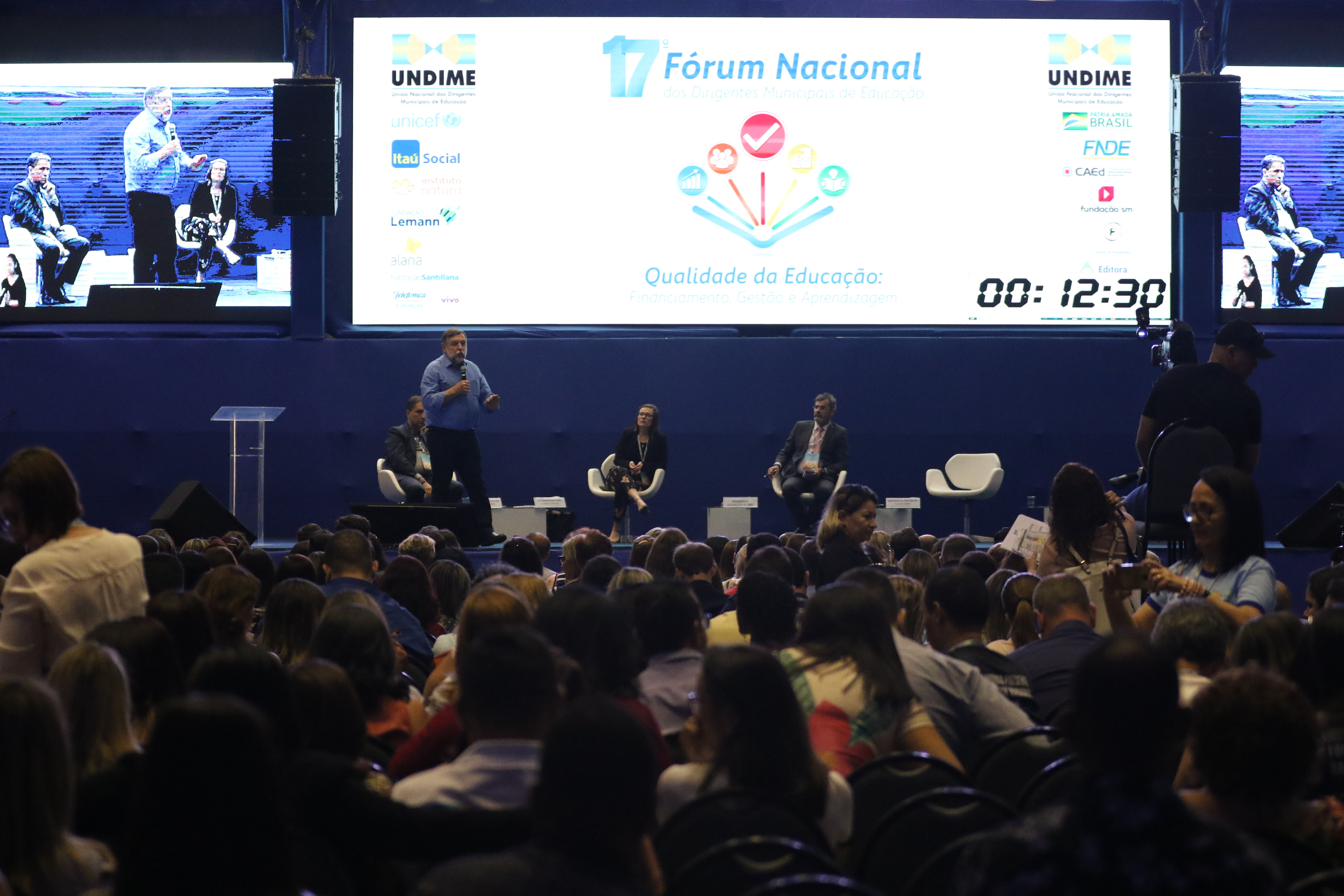 Fim do Novo Mais Educação, Fundeb permanente: os destaques do 17º Congresso da Undime