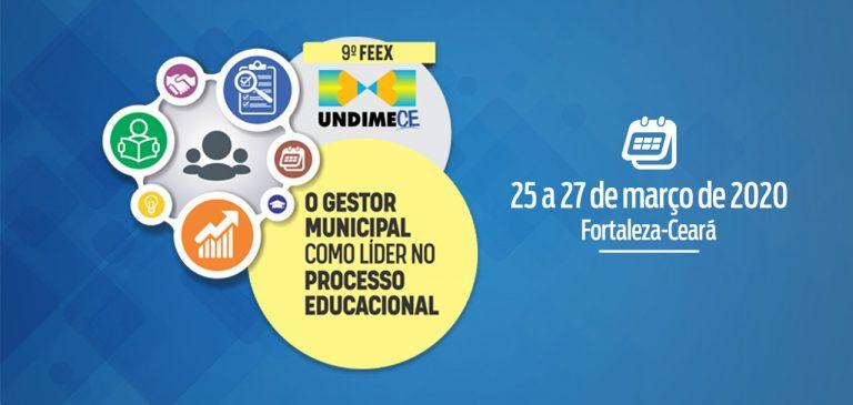 Undime Ceará realiza Fórum Extraordinário de 25 a 27 de março