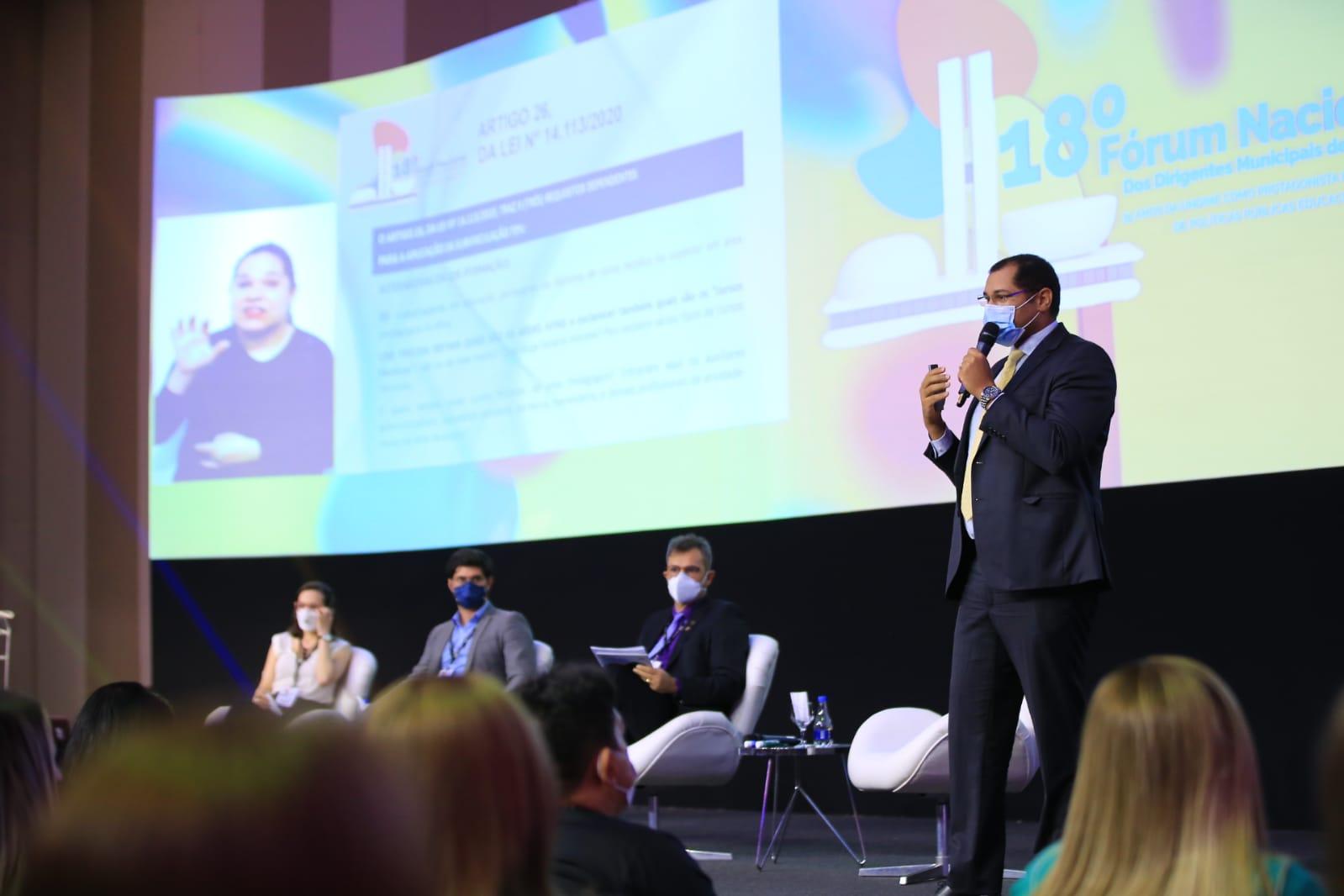 Acesse as apresentações utilizadas pelos palestrantes no 18º Fórum Nacional da Undime