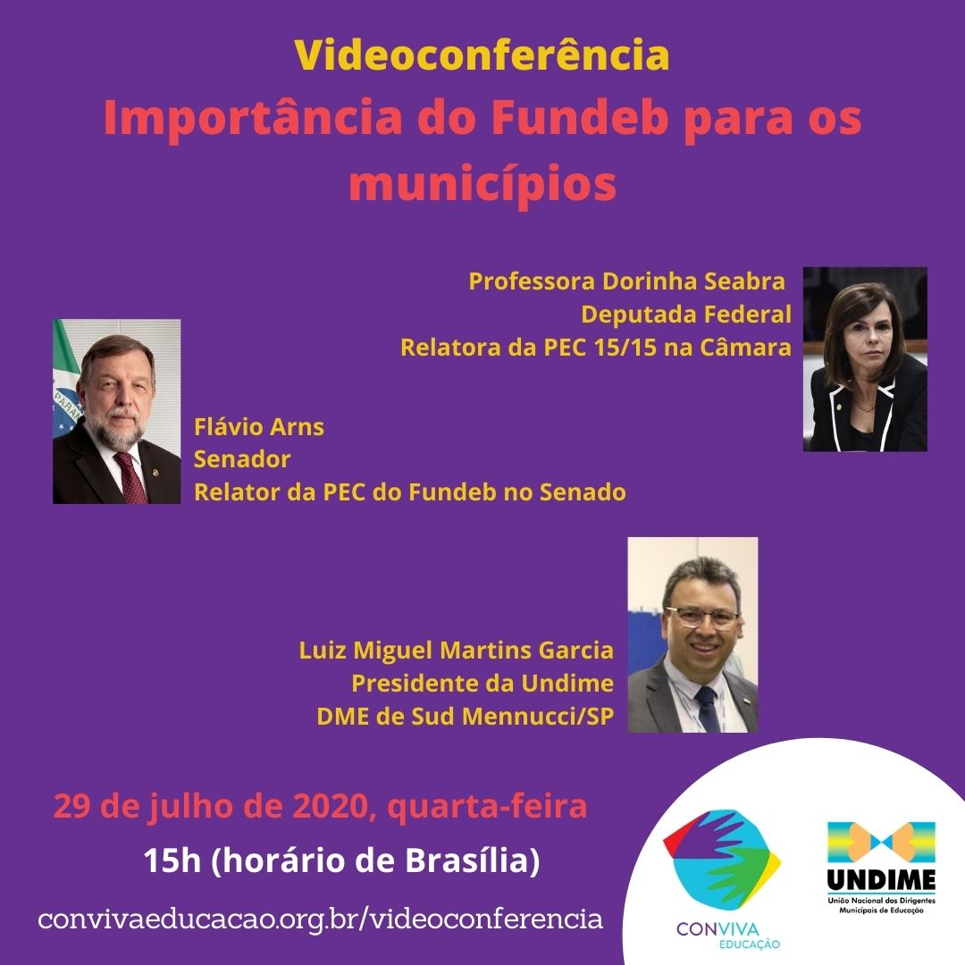Videoconferência: a importância do Fundeb para os municípios
