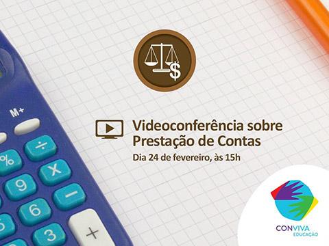 Conviva Educação promoverá videoconferência sobre prestação de contas