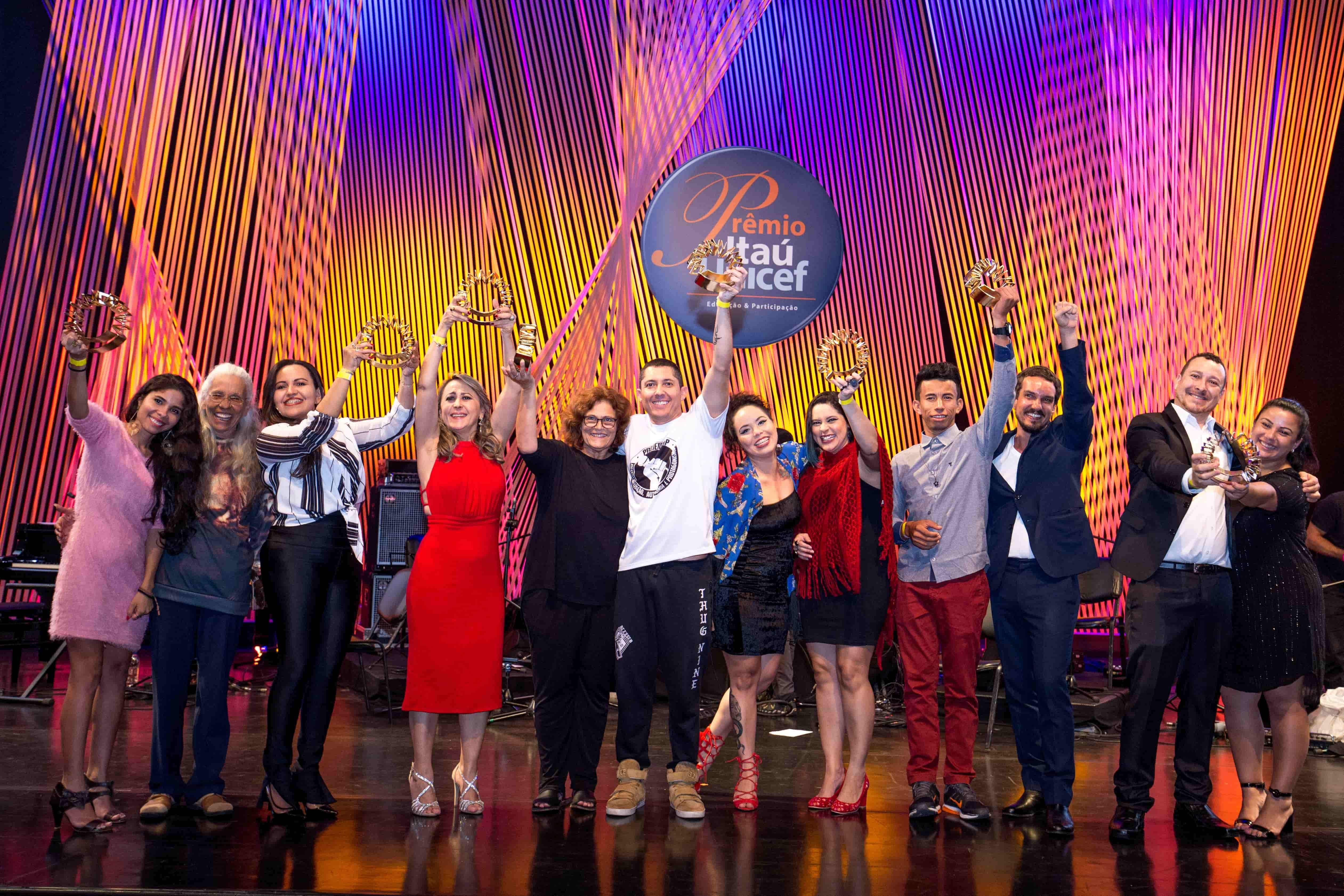 Conheça os vencedores nacionais da 13ª edição do Prêmio Itaú-Unicef