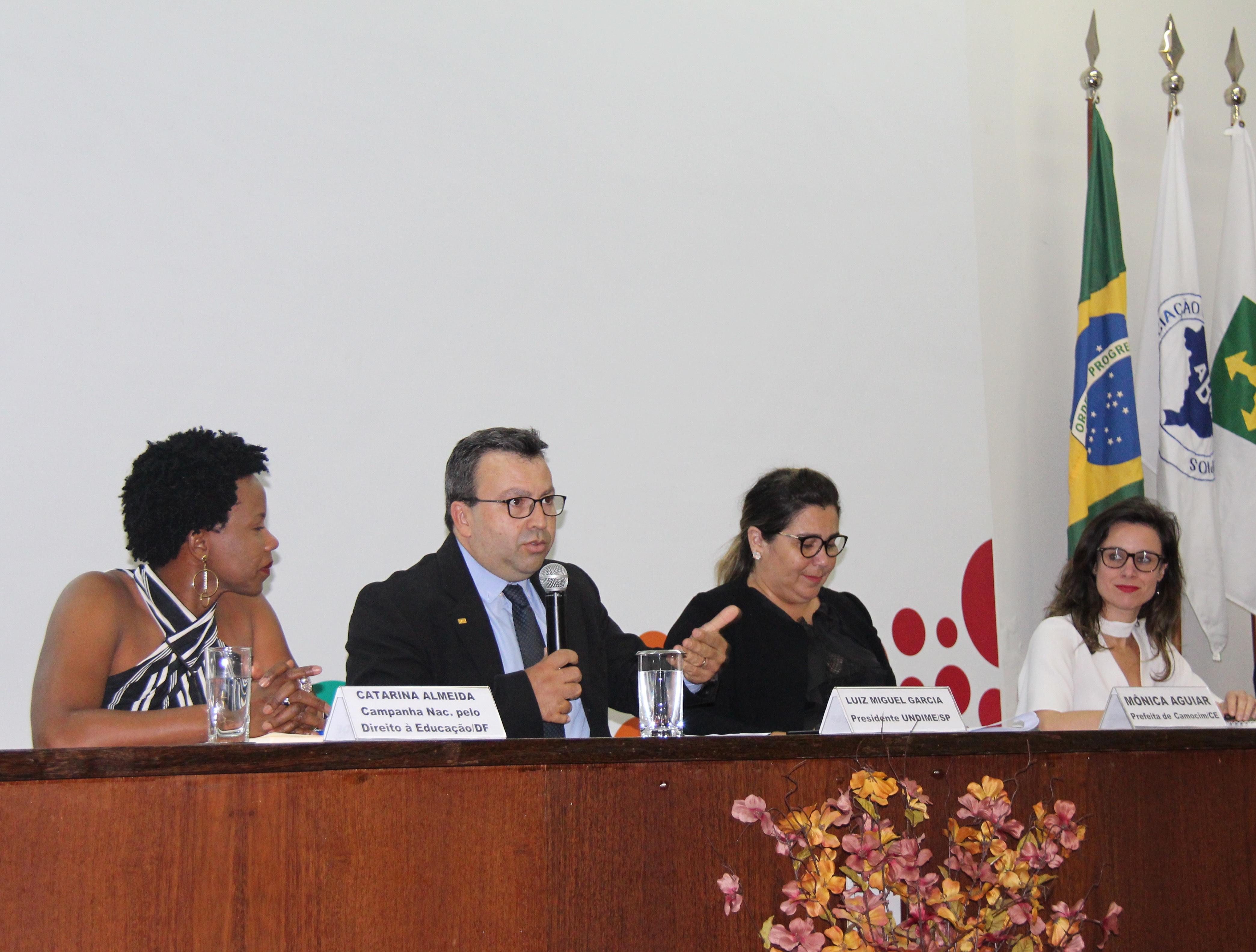 Undime debate Fundeb no III Encontro Nacional de Municípios