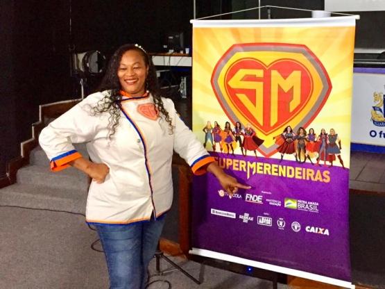 Ganhadora do reality show Super Merendeiras é premiada em Salvador