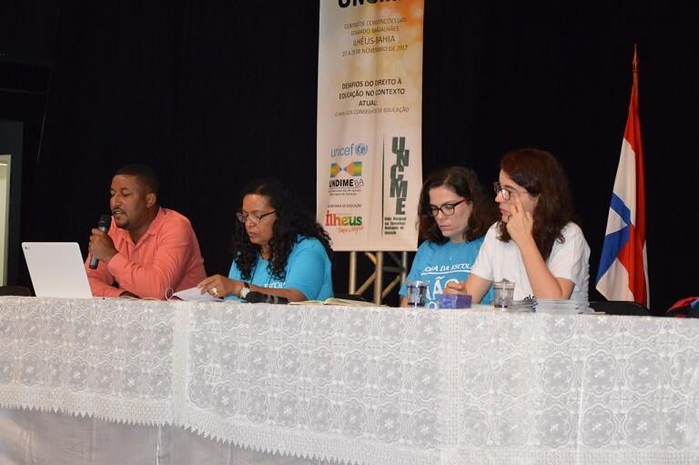 Undime participa do encontro nacional da Uncme, em Ilhéus (BA)