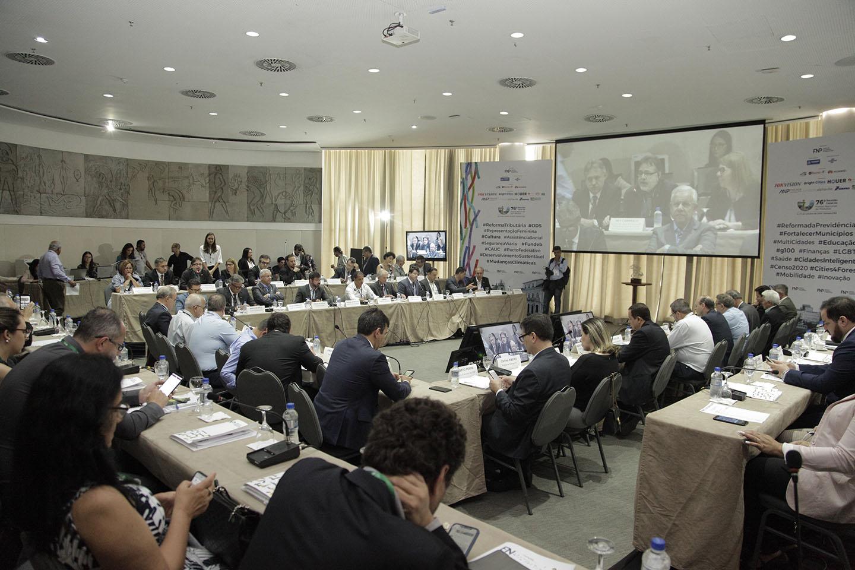 Fundeb é tema de debate na 76ª Reunião Geral da Frente Nacional de Prefeitos