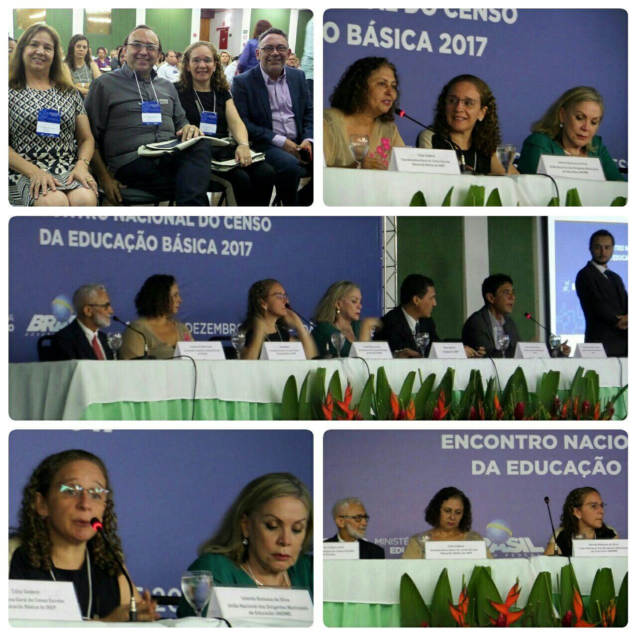 Censo Escolar: encontro nacional reúne representantes da Undime na Paraíba