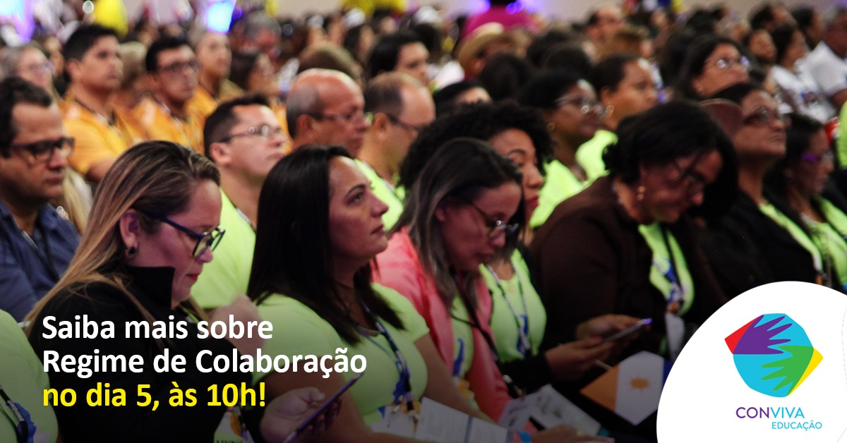 Conviva promove debate sobre regime de colaboração na próxima quinta-feira (5)