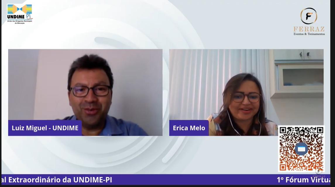 """Undime-PI dá início a Fórum que debate """"Desafios e Perspectivas da Educação piauiense durante e pós-pandemia"""""""