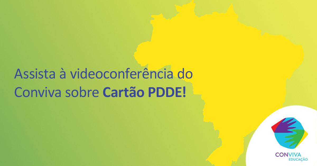 Conviva realiza videoconferência sobre o PDDE no dia 27
