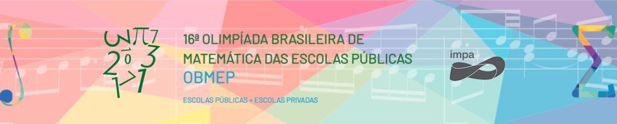 Olimpíada de Matemática das Escolas Públicas: resultado da 1ª fase da 16ª edição será divulgado na próxima quinta-feira (9)