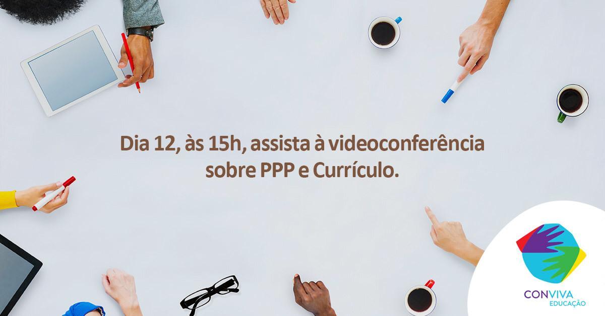 Conviva debate currículos municipais e projetos políticos-pedagógicos em videoconferência