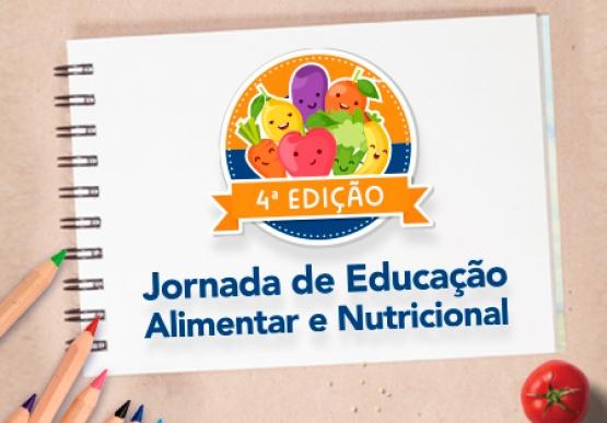 Prorrogado o prazo para inscrições na Jornada de Educação Alimentar e Nutricional