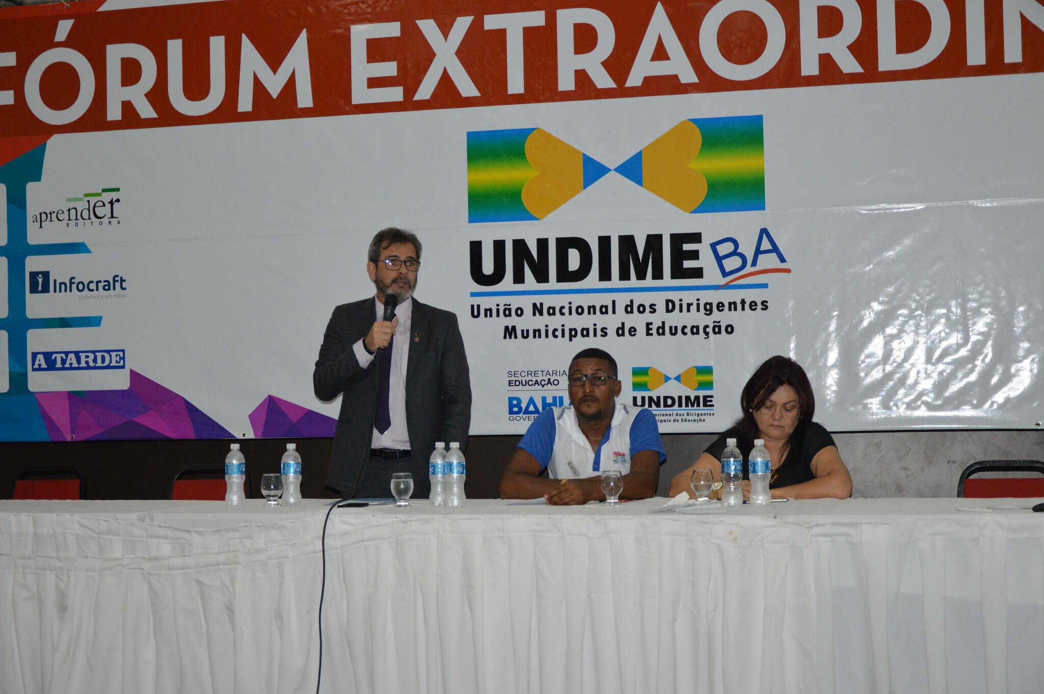 Fórum da Undime Bahia reúne 1,5 mil participantes em Salvador