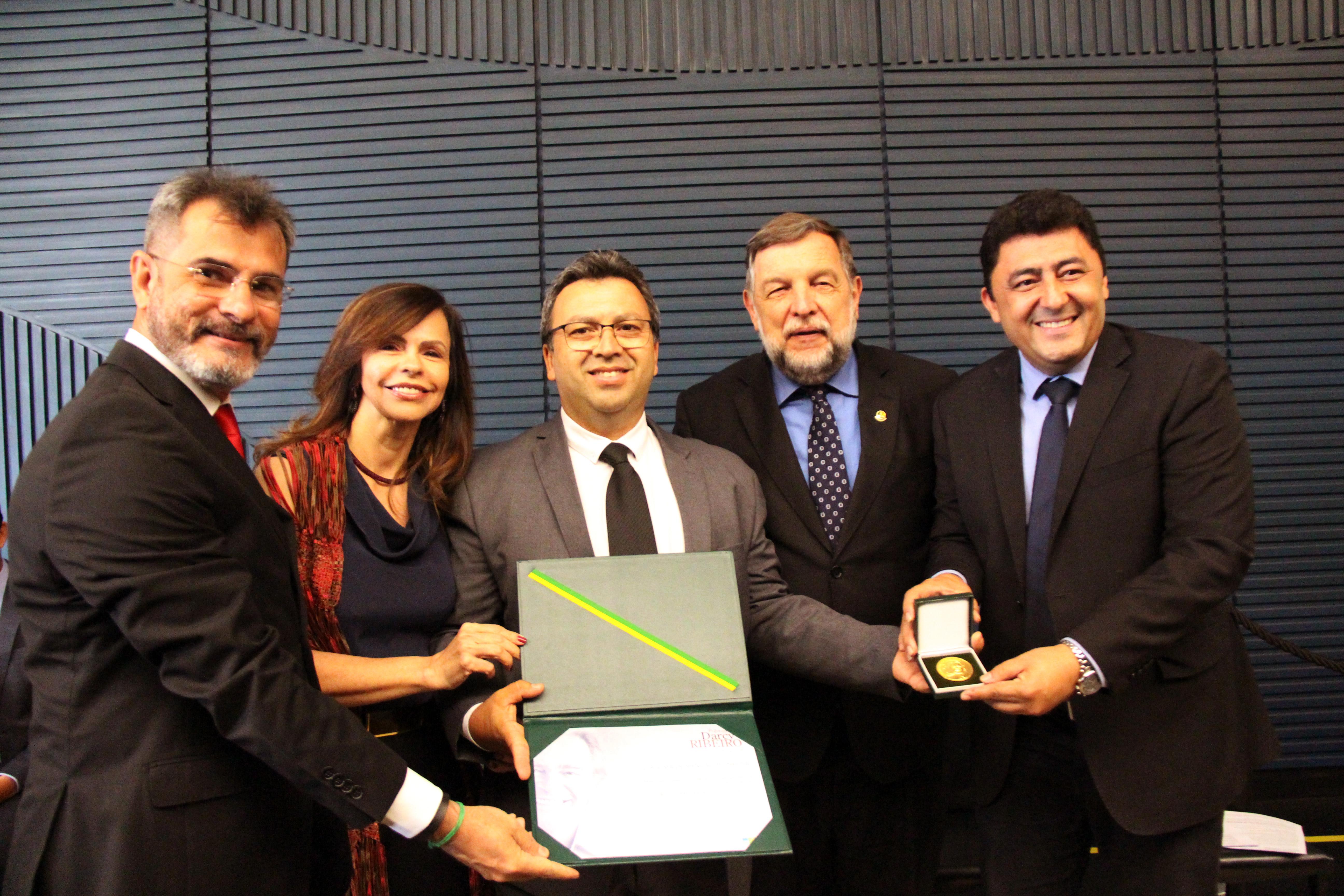 Undime recebe Prêmio Darcy Ribeiro de Educação