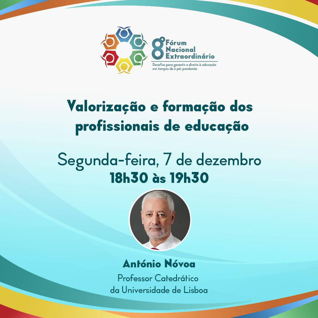 8º Fórum Nacional Extraordinário vai debater a valorização e formação dos profissionais de educação