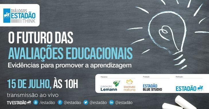 Fundação Lemann, Instituto Natura e Estadão promovem seminário para discutir o futuro das avaliações educacionais