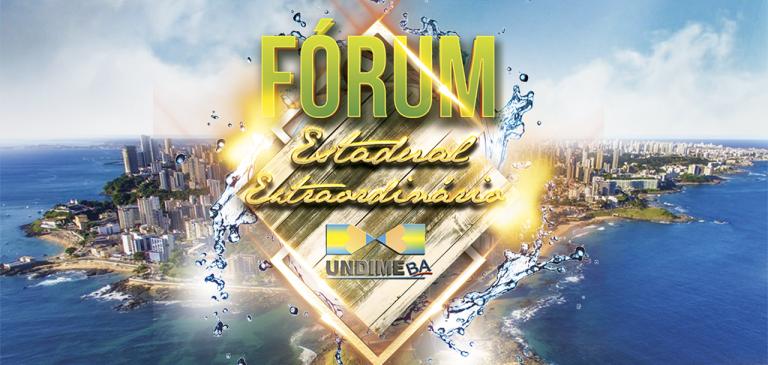 Undime Bahia realiza Fórum Extraordinário nos dias 26 e 27 de março