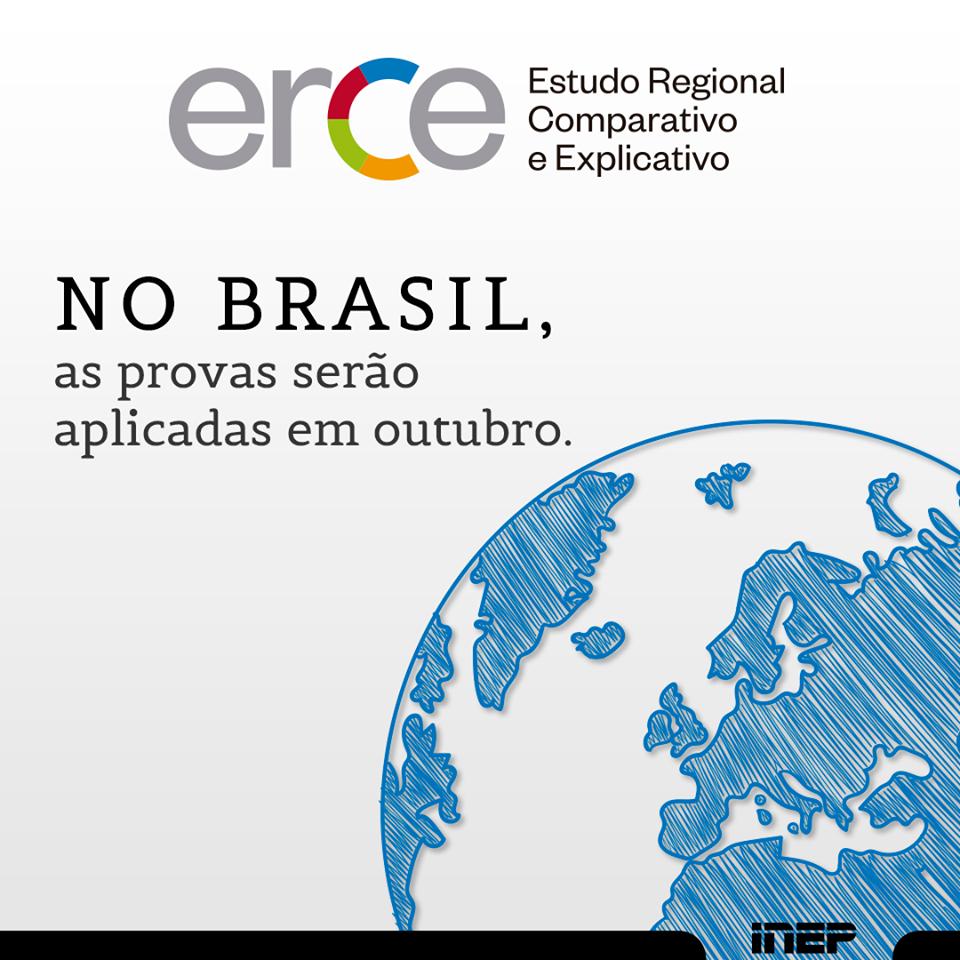Provas do Estudo Regional Comparativo e Explicativo (Erce) serão aplicadas no Brasil em outubro
