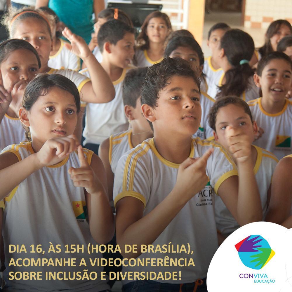 Conviva promove videoconferência sobre inclusão e diversidade