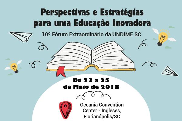 Undime Santa Catarina promoverá fórum estadual em Florianópolis