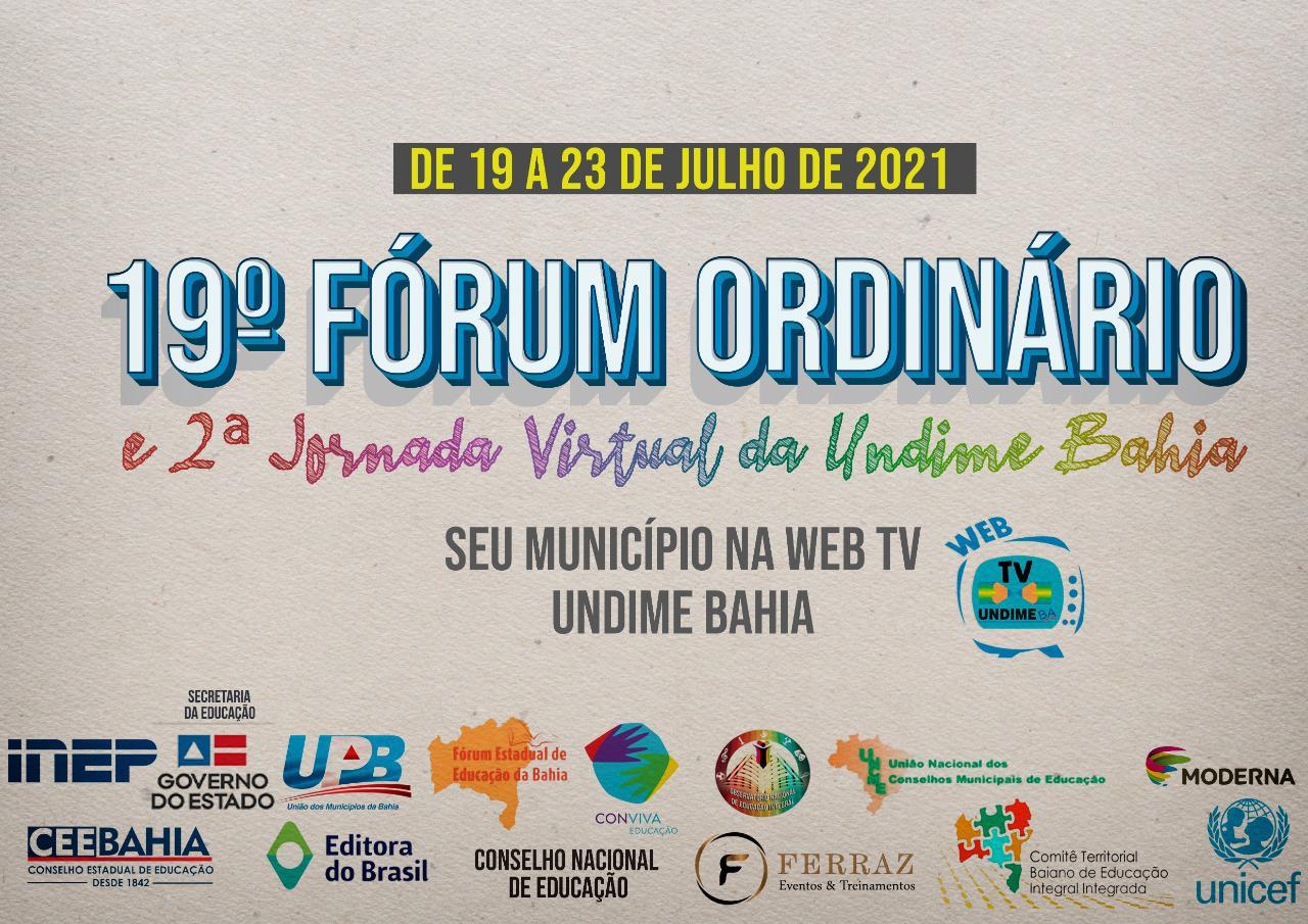 Undime Bahia se prepara para realizar 19º Fórum Estadual Ordinário
