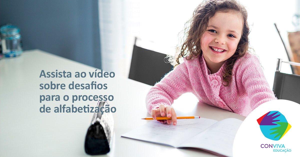 Conviva realiza videoconferência sobre os desafios para o processo de alfabetização