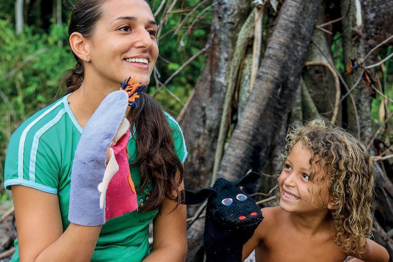 Unicef lança podcast diário para crianças, com foco em histórias e saberes da Amazônia